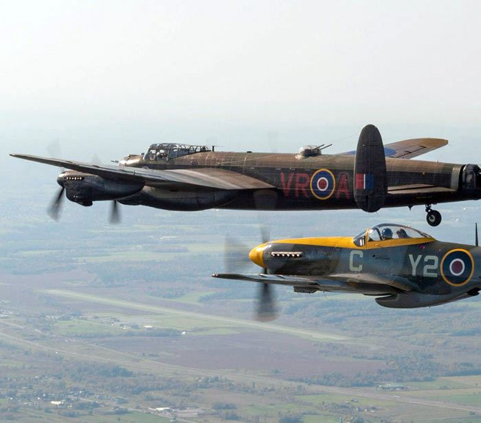 What you will see, hear and feel in a Warbird Formation Flight will remain with you forever. (Credit: Peter Handley)