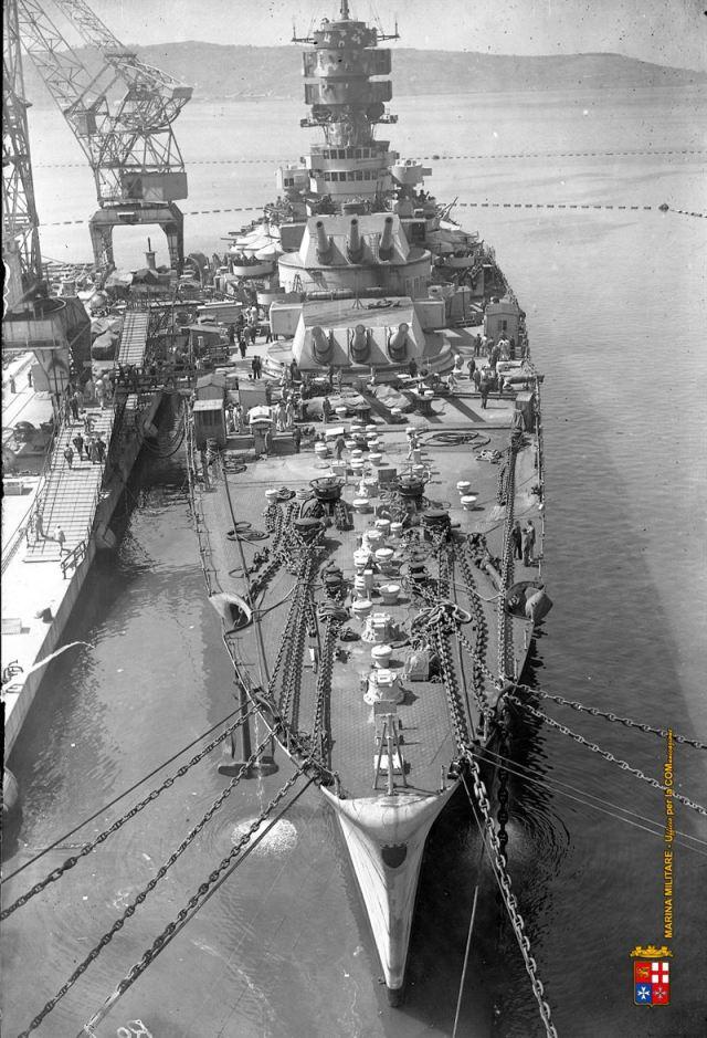 Cadillac of Italy's WWII Navy: Battleship Roma   Argunners Magazine