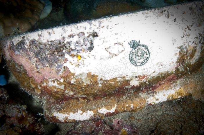 Artifact of the Shinkoku Maru (Credits: Brandi Mueller)
