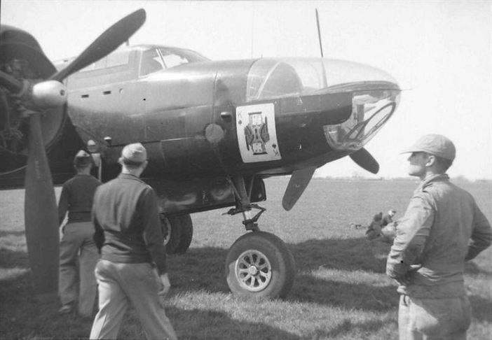 USAAF Images: Douglas A-26 Invader assigned to the 801st Bomb Group / 492d Bombardment Group