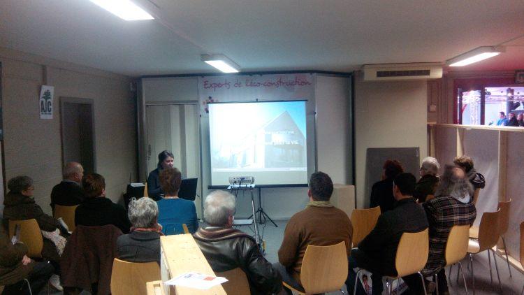 conférence présenée par Véronique Staffe batirama 2014
