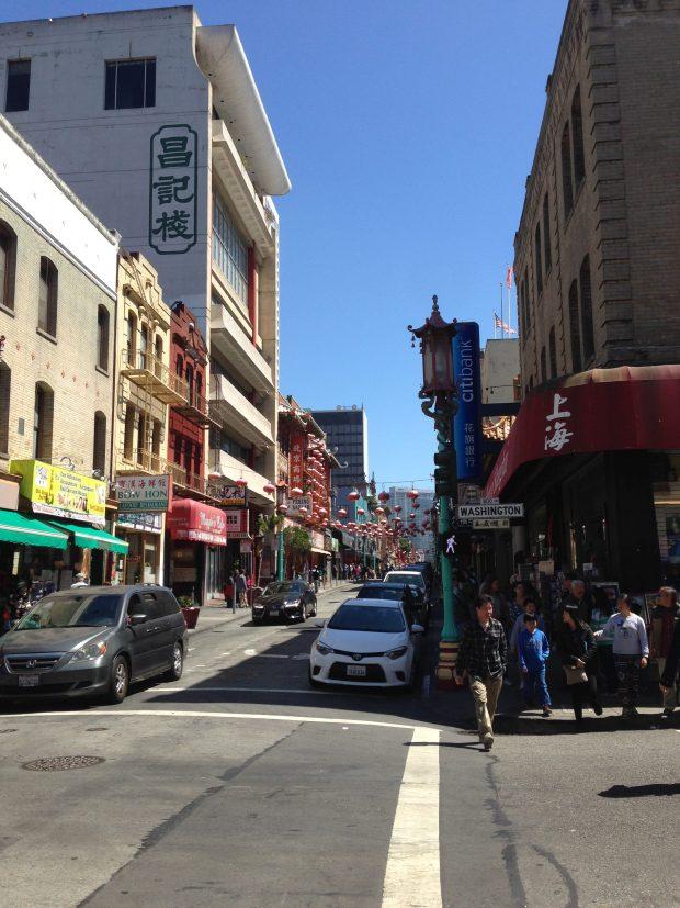 San Francisco sägs ha största Chinatown utanför Kina. Fast i Kina finns ju inga Chinatowns å andra sidan.