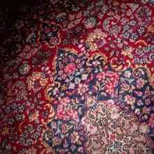 Exempel på en persisk ateljématta – Laver Kirman