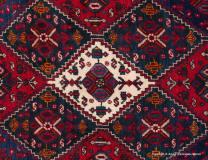 Persisk Afshar, orientmatta, storlek 170 x 254 cm