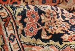 Mahal, persisk matta från västra Iran, storlek 133 x 199 cm