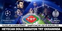 Şampiyonlar Ligi maçları TRT'de izlenecek