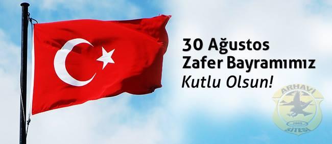 30 Ağustos Zafer Bayramı'nı Kutluyoruz