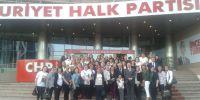 CHP Artvin Kadın Kollarının Ankara Çıkarması