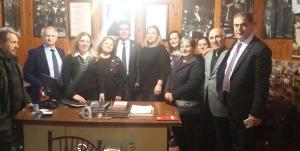 Prof. Dr. Süheyl Batum, Arhavi Atatürkçü Düşünce Derneğini Ziyaret Etti