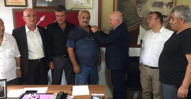 40 Yıllık Hasret Bitti, Özçakmak CHP'li Oldu