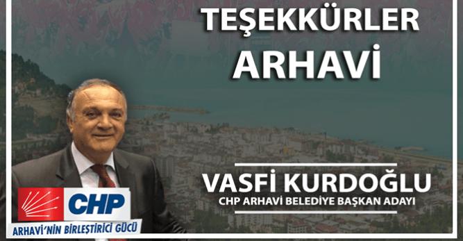 CHP'de 105 Belediye Başkan Adayı Belli Oldu! Arhavi'nin Adayı Vasfi Kurdoğlu