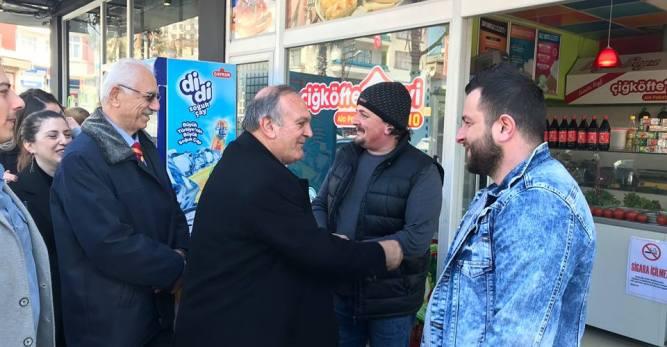 Vasfi Başkan: 'İlçede Sıkmadık El, Ziyaret Etmedik Ev Bırakmayacağız'