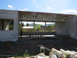 Practical Field Study Seminar facility under construction