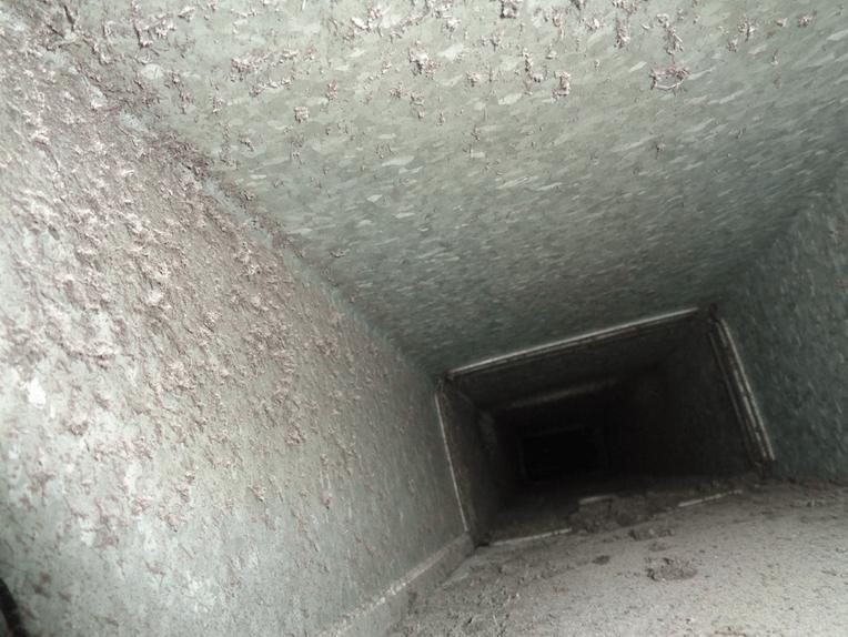 bonifica condotte - canale aria sporco