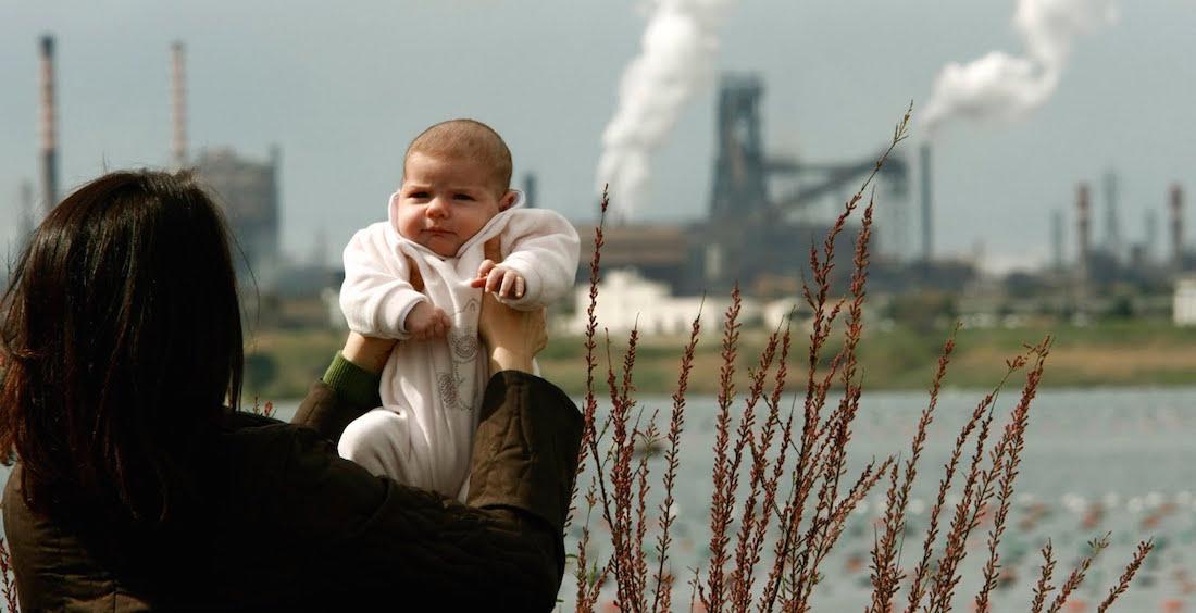smog danneggia cervello bambini