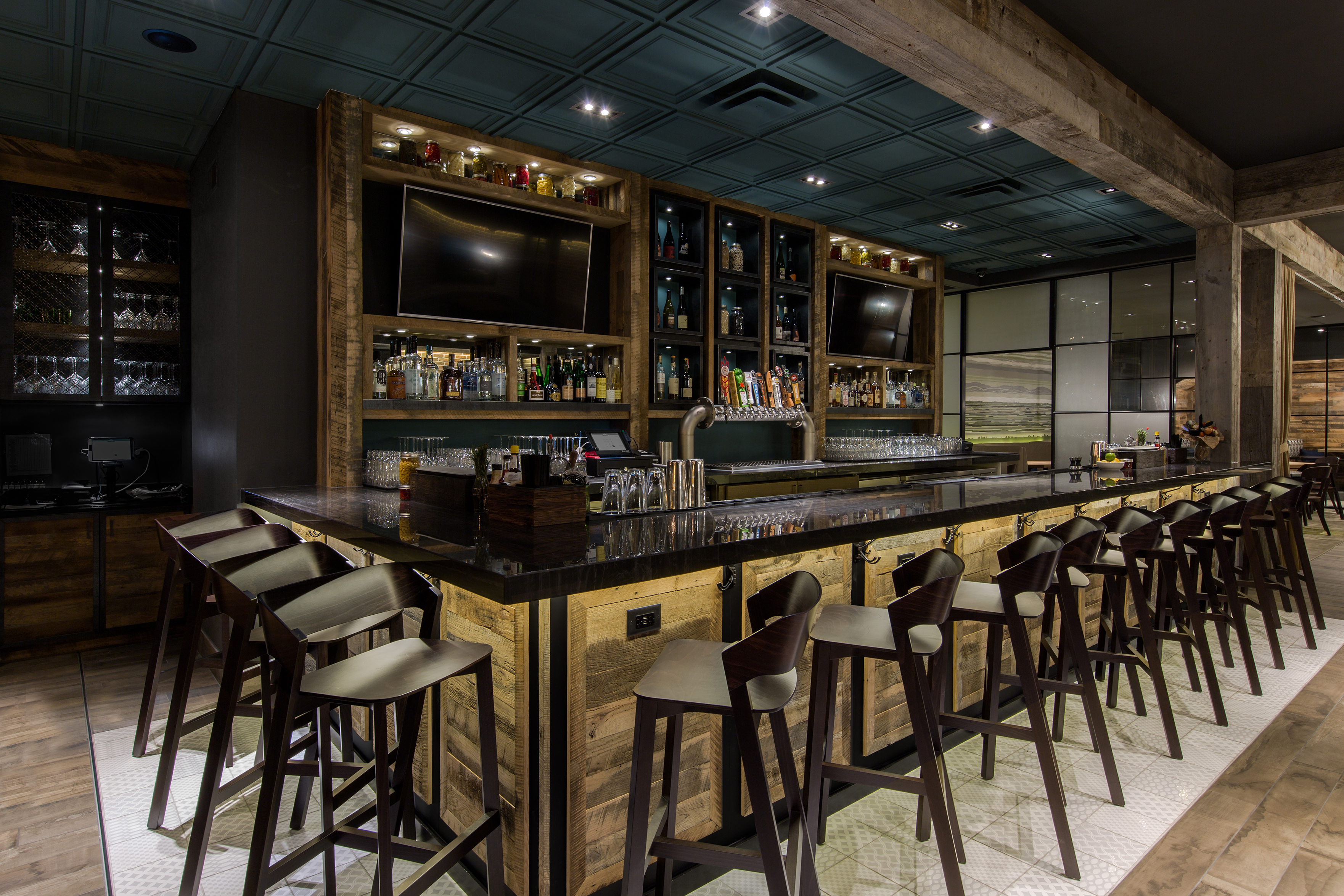 Aria Group Architects One Fifty One Kitchen Bar