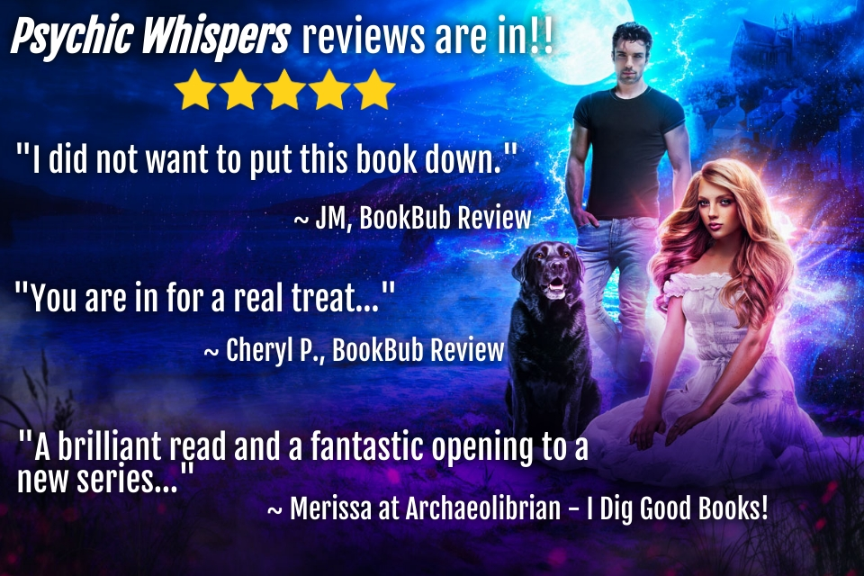 5-Star Reviews for Psychic Whispers