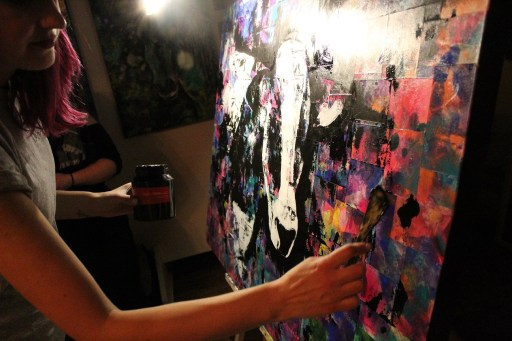 Photo de l'artiste à l'événement ArtJam!