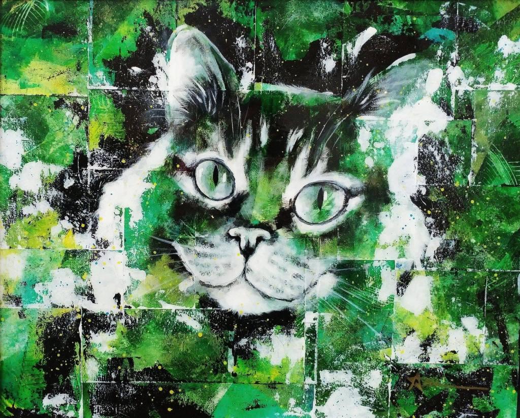 Portrait de Ralph le chat