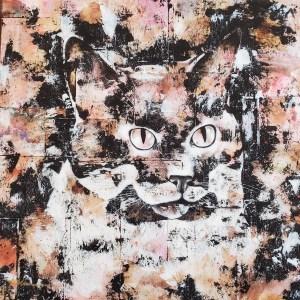 Portrait de chat - Luciole