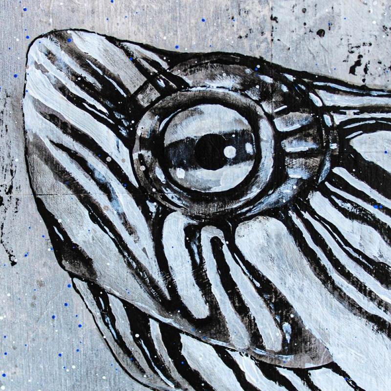 Détails du portrait de Benny (tortue)