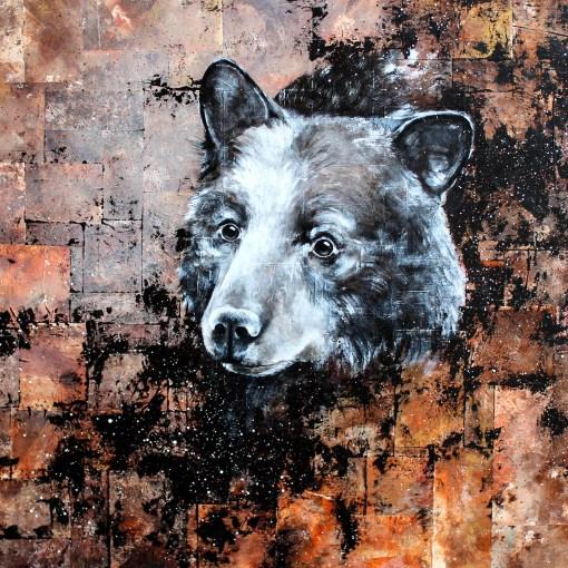 Portrait de Dadou l'ours