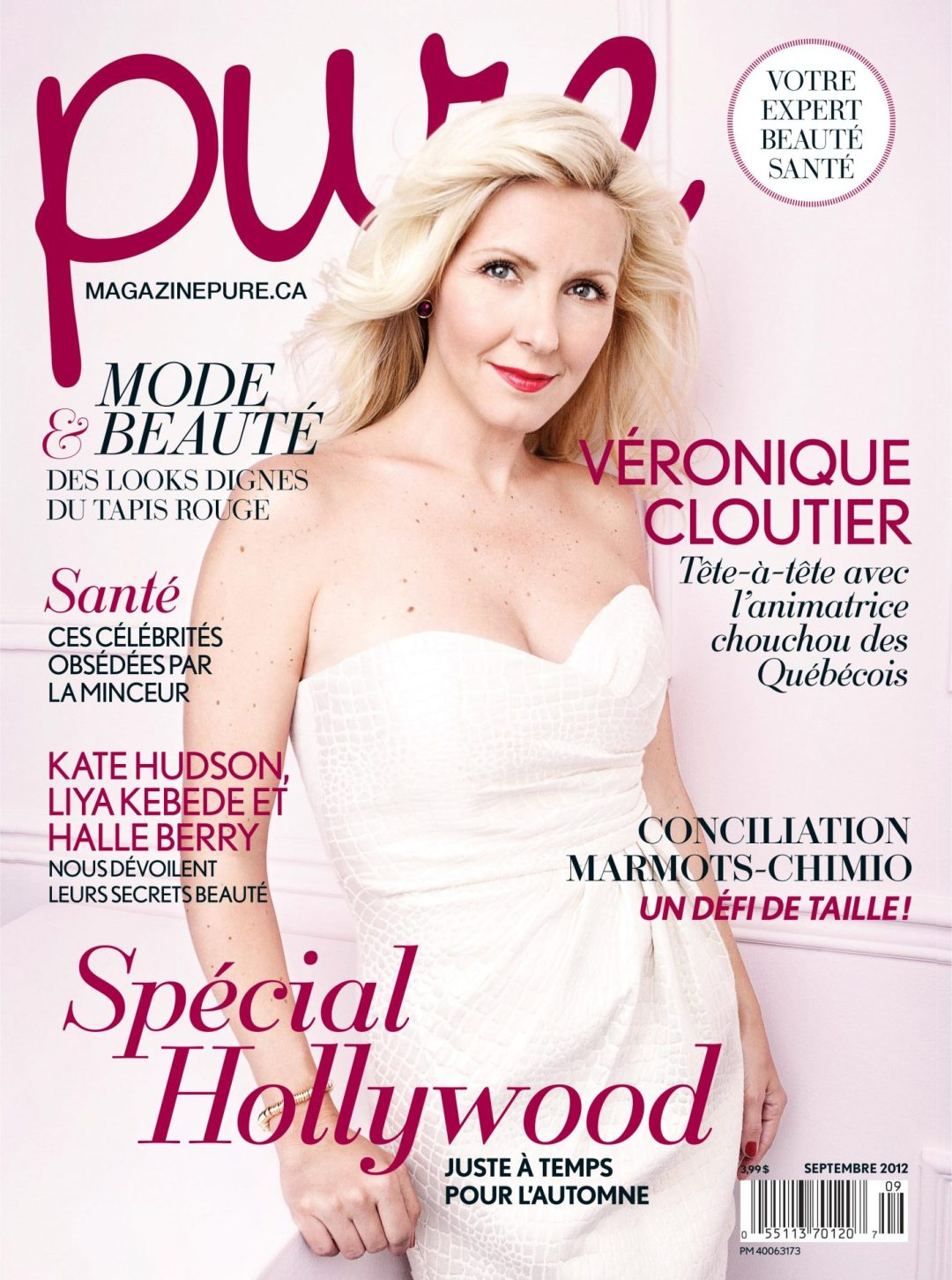 Magazine Pure Veronique Cloutier 2012 par Ariane Simard