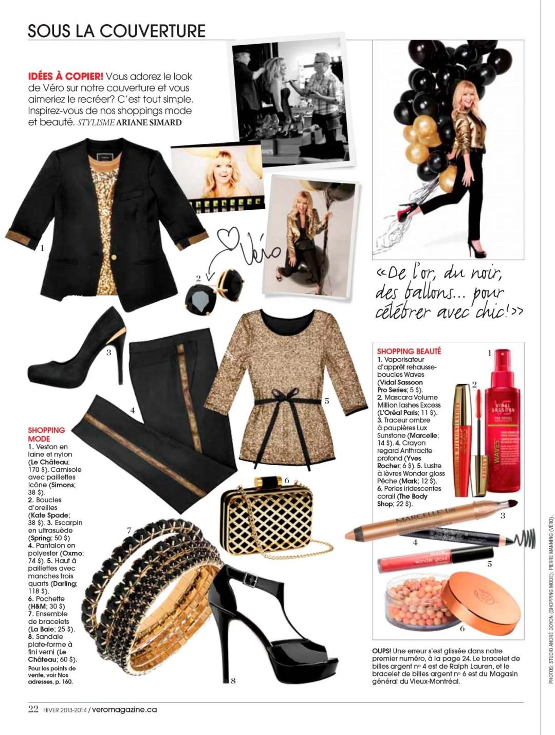 Sous Couverture Magazine Vero Hiver 2013-2014
