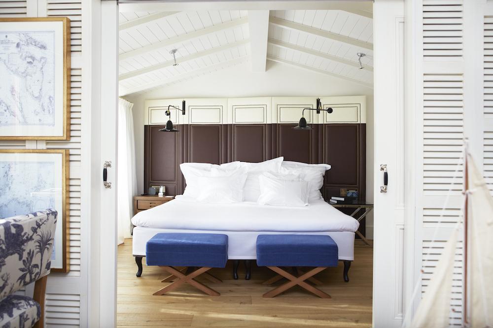Hotel Cort,Bedroom Plaça Suite (blue).