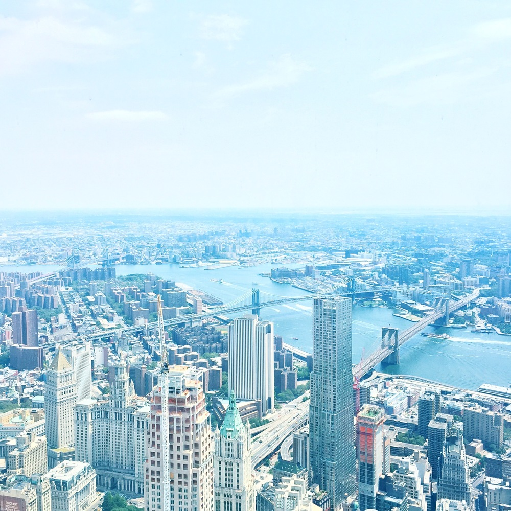 Definitely the best view in town from the One World Observatory!