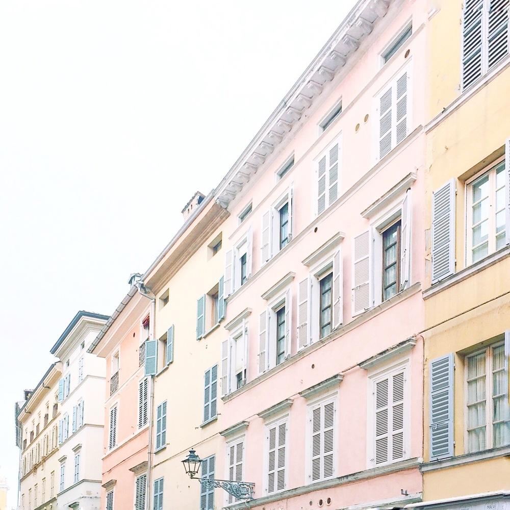 City centre Parma, Italy.