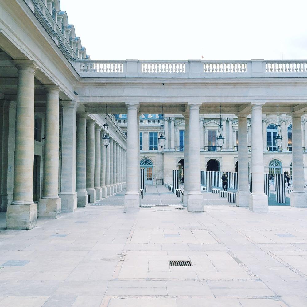 Les Colonnes de Buren - Paris