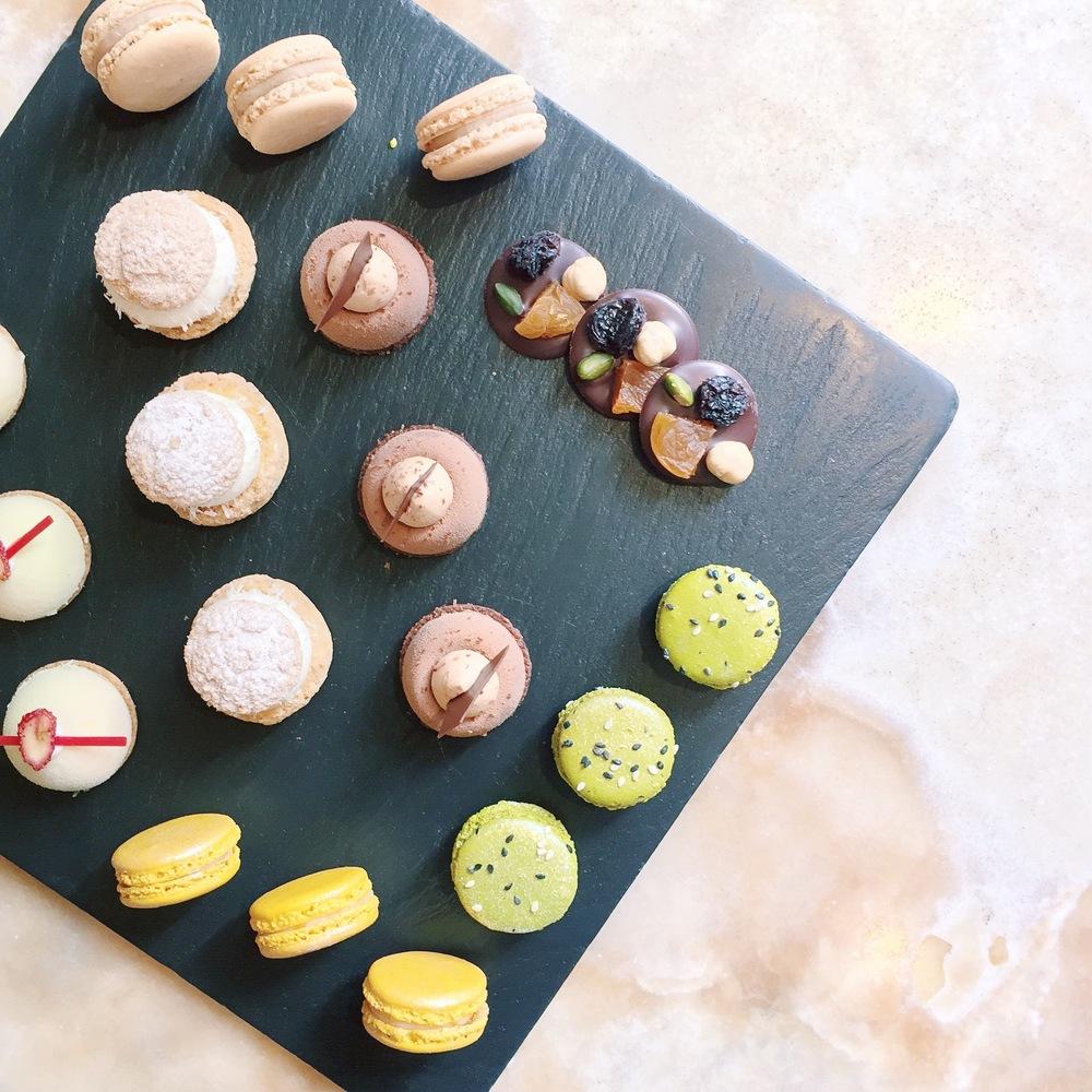 Macarons delight at the Park Hyatt
