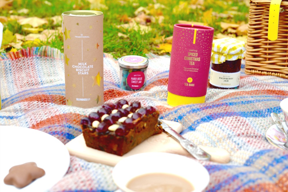 Selfridges Christmas hampers gift box - Autumn Picnics