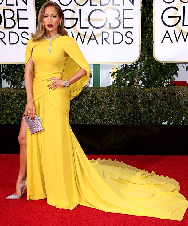 Jennifer Lopez at the Golden Globes 2016