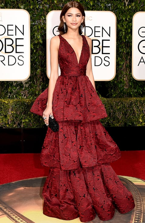 Zendaya at the Golden Globes 2016
