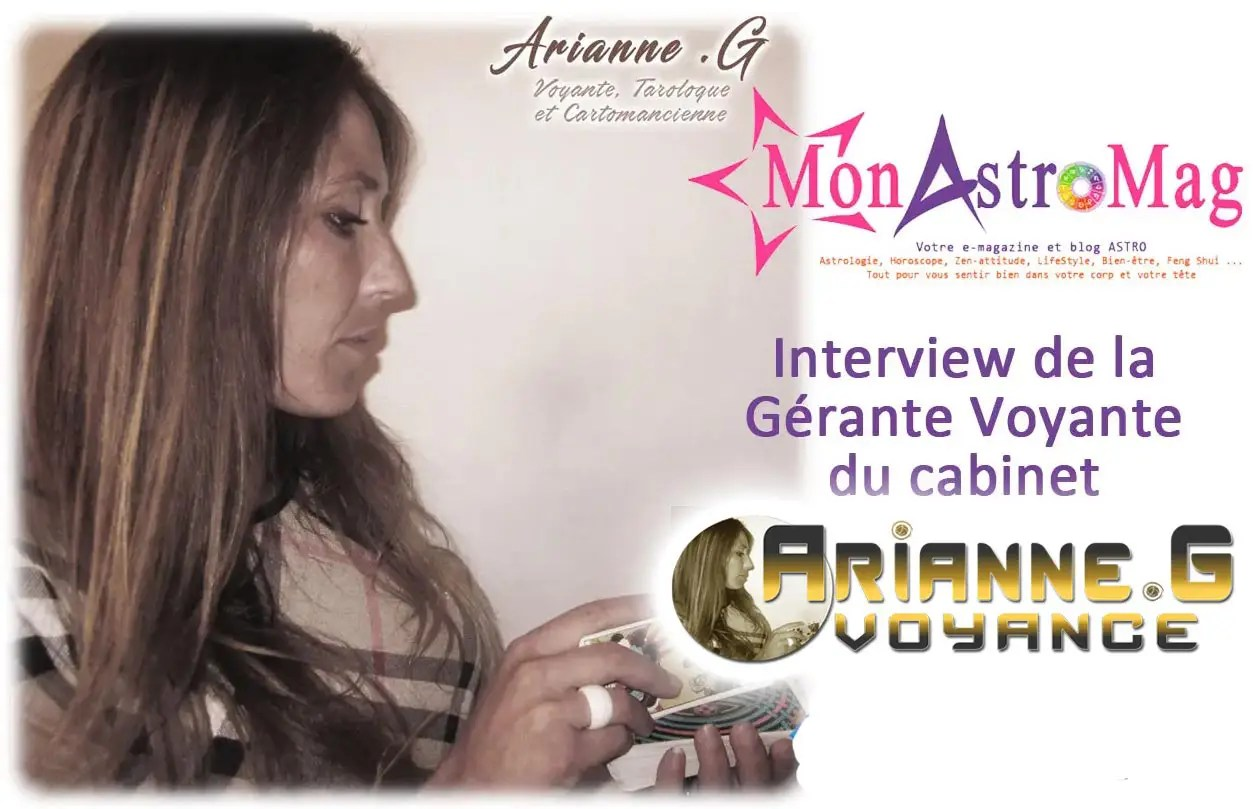 Interview Arianne G Voyante pure