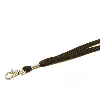 Tour de cou avec crochet nickele pour badge passe sanitaire