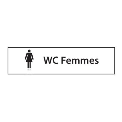 Panneau de chantier Toilette Femmes