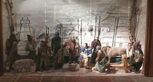 Presepe realizzato dai militari italiani internati nel lager tedesco di Wietzendorf