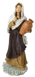 Statuina presepe, donna con anfora