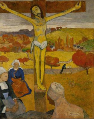 Paul Gauguin, Il Cristo giallo, olio su tela 1889. È conservato nell'Albright-Knox Art Gallery di Buffalo (USA)