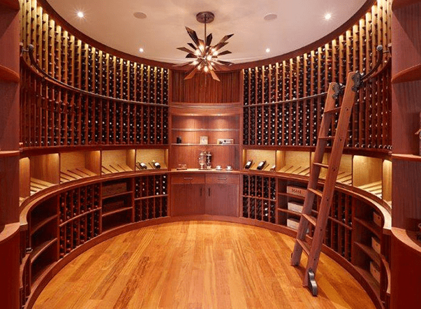 Luxurious Wine Cellar