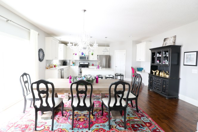 Colorful Glam Christmas Home Tour Arie Co