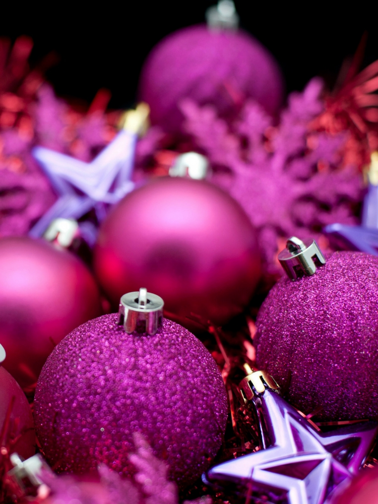 Glam Pink Christmas Decor