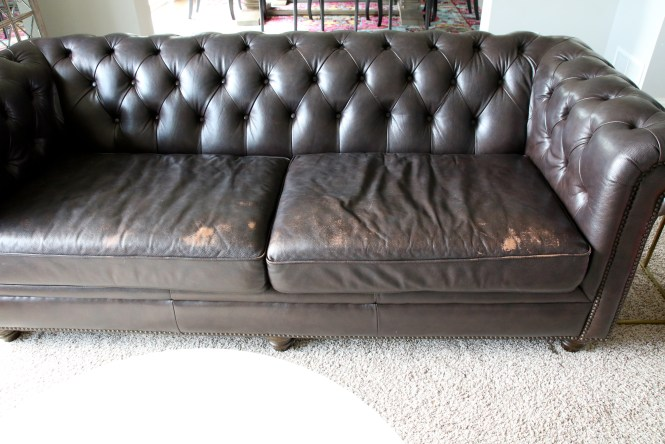 How to Repair a Leather Sofa - Arie + Co.