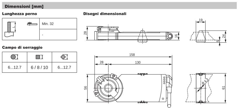 CM230-L Dimensioni