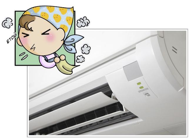 pulizia di climatizzatori e condizionatori