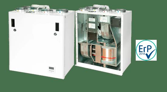 Recuperatore di calore rotativo Ensy mod. AHU 200