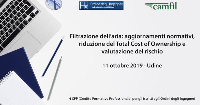 seminario filtrazione aria e valutazione del rischio